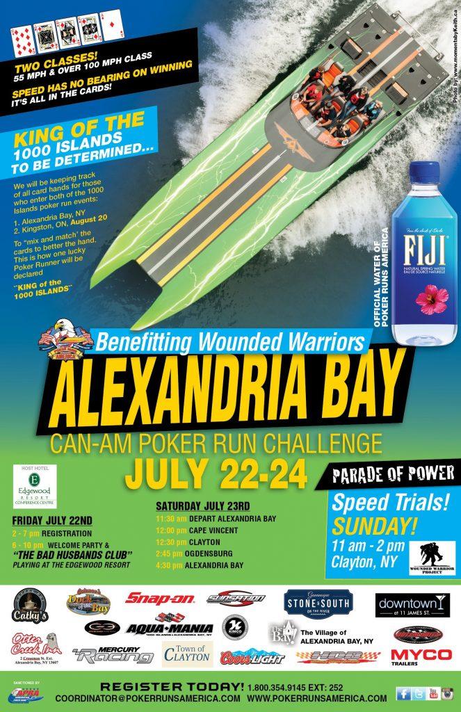 Poker run alexandria bay ny