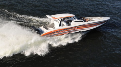 MTI-V 42 CENTER CONSOLE – The Most  Innovative Boat  Of The Year!