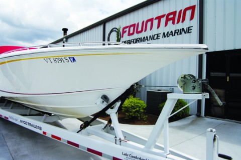 REGGIE IS BACK With Fountain Performance Marine