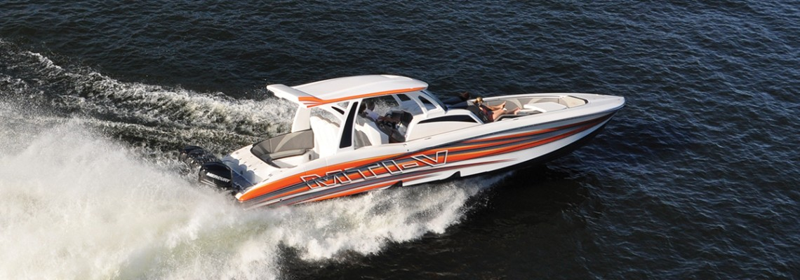 MTI-V 42 Center Console – The most innovative boat of the year
