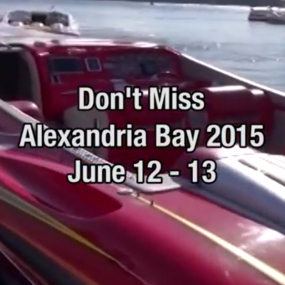 "2015 Alexandria Bay ""Hall of Fame"" Poker Run Teaser"