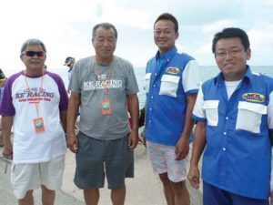 Evidence of the event's international popu-larity, members of the Japan Powerboat Association were in attendance.