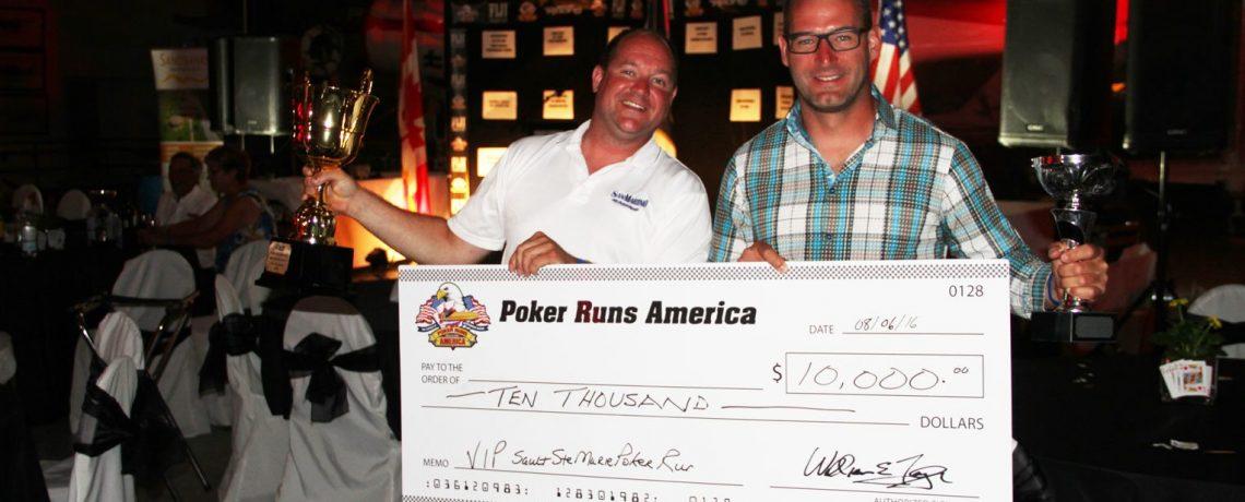 Sault Ste Marie 2016 Poker Run Winners