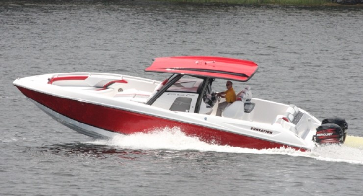 Sunsation Powerboats' 34 Center Cabin Extreme (CCX)