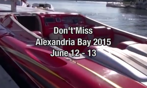 "2015 Alexandria Bay ""Hall of Fame"" Poker Run Teaser"