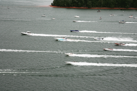 South Carolina Boaters Take Care of Their Neighbors at Hartwell Lake Poker Run