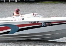 Carrie Sixkiller at the Lake of the Ozarks Shootout