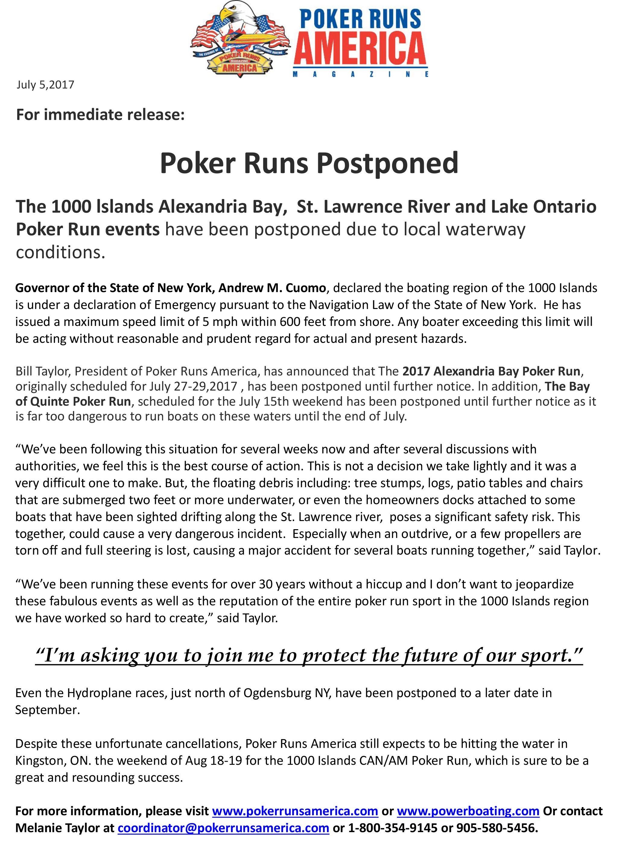 Belleville bicycle poker run 2018