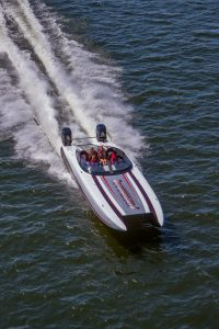 wright 360 performance catamaran running