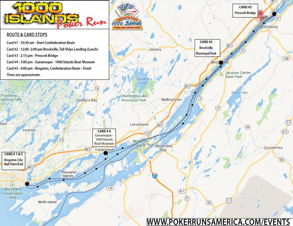 2019 1000 Islands Poker Run - Poker Runs America - Kingston ...