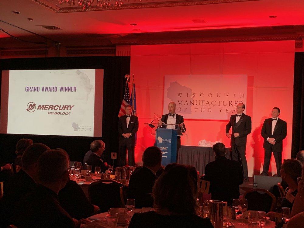 Mercury Marine Award