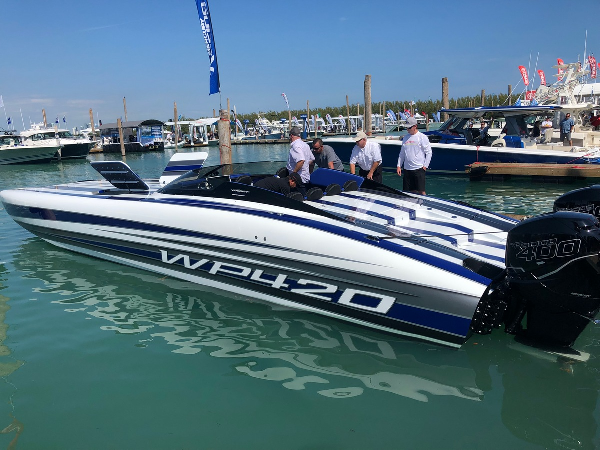 Wright Performance 420 catamaran